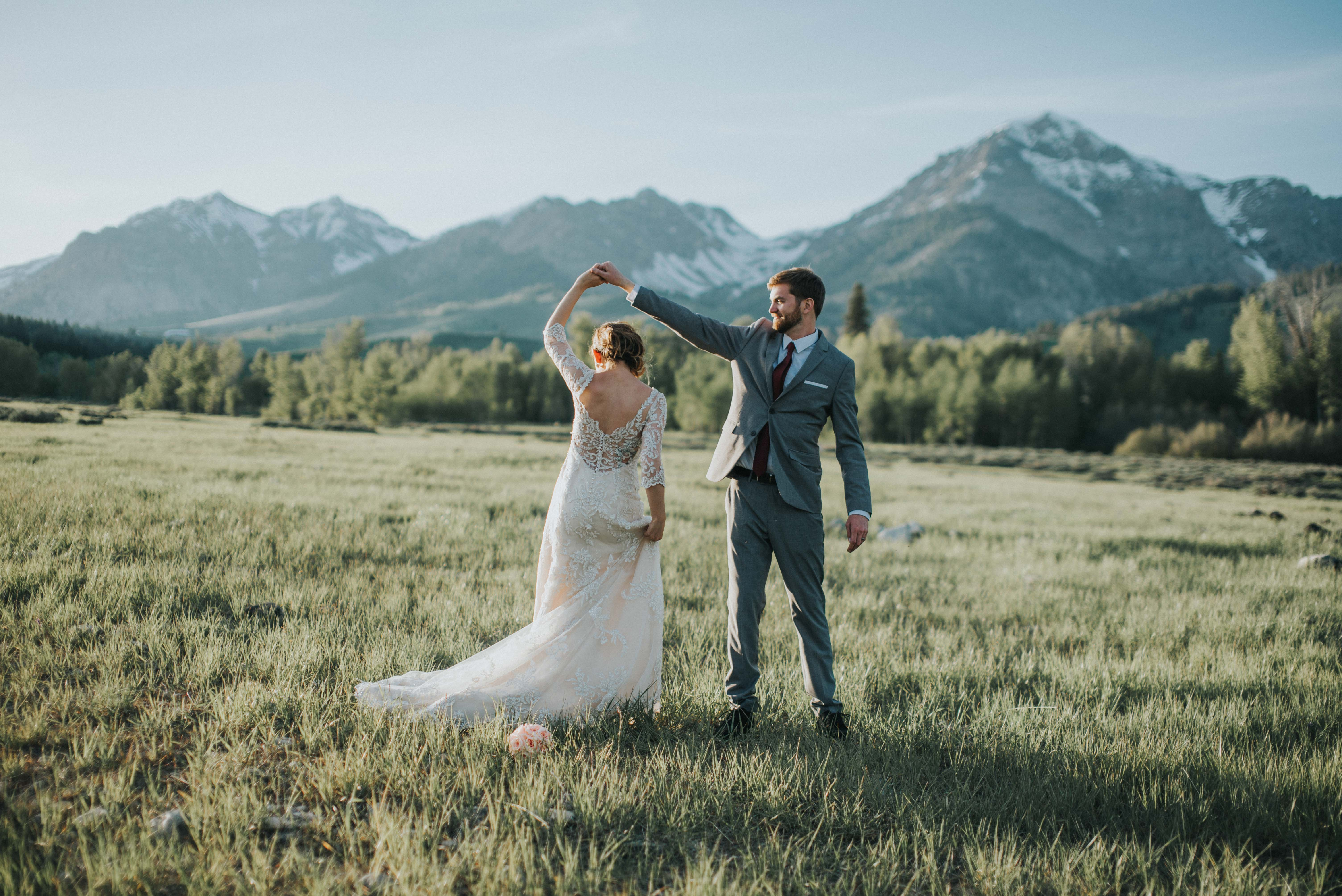 Mountain Wedding Idaho