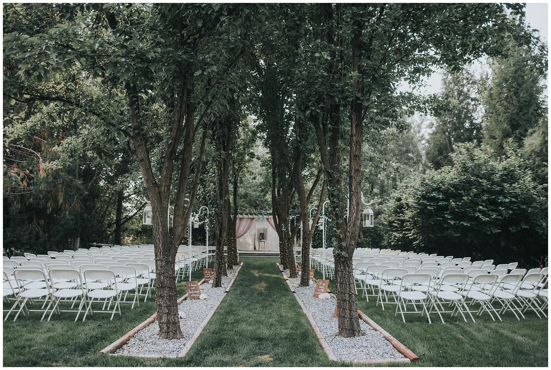 Boho Garden Boise Wedding Photographer