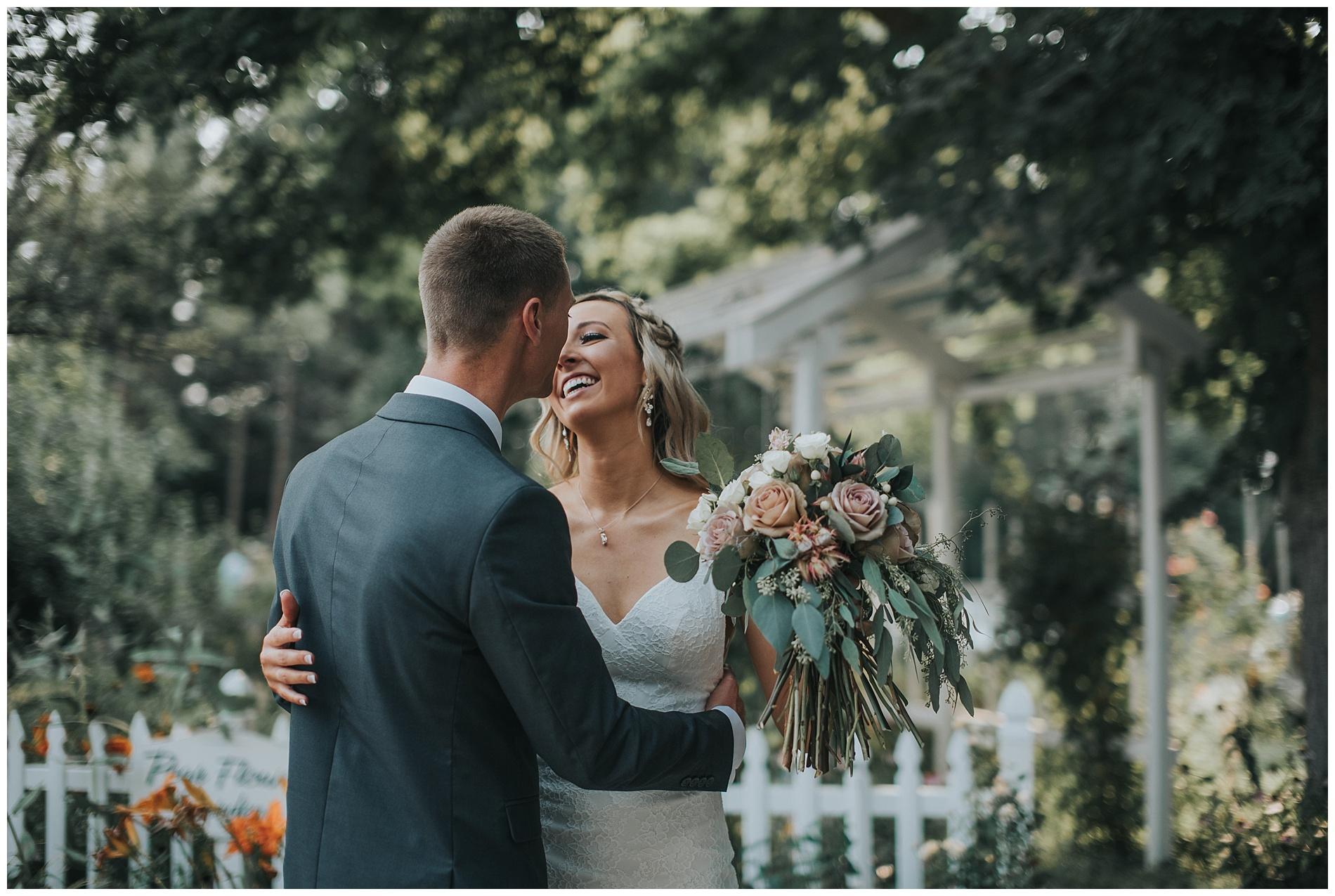 Boise Boho Garden Wedding