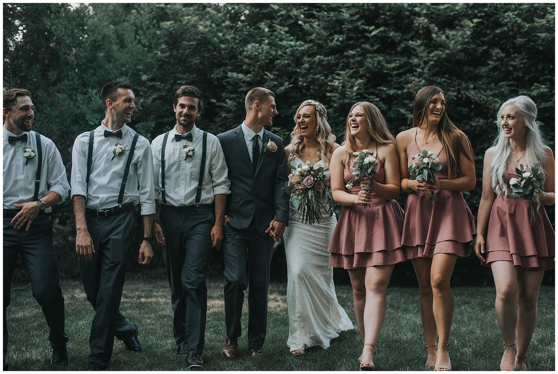 Boho Bridesmaids Fourth Street Gardens