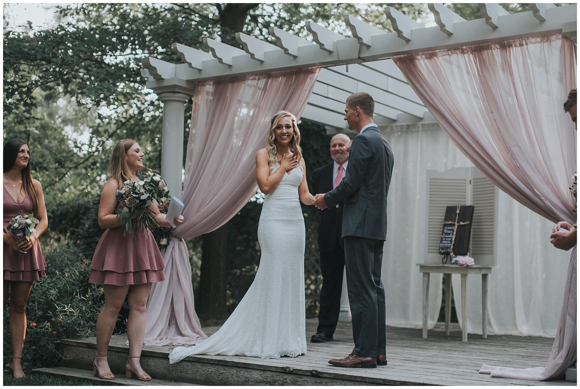 Boho Elegant Fourth Street Gardens Wedding