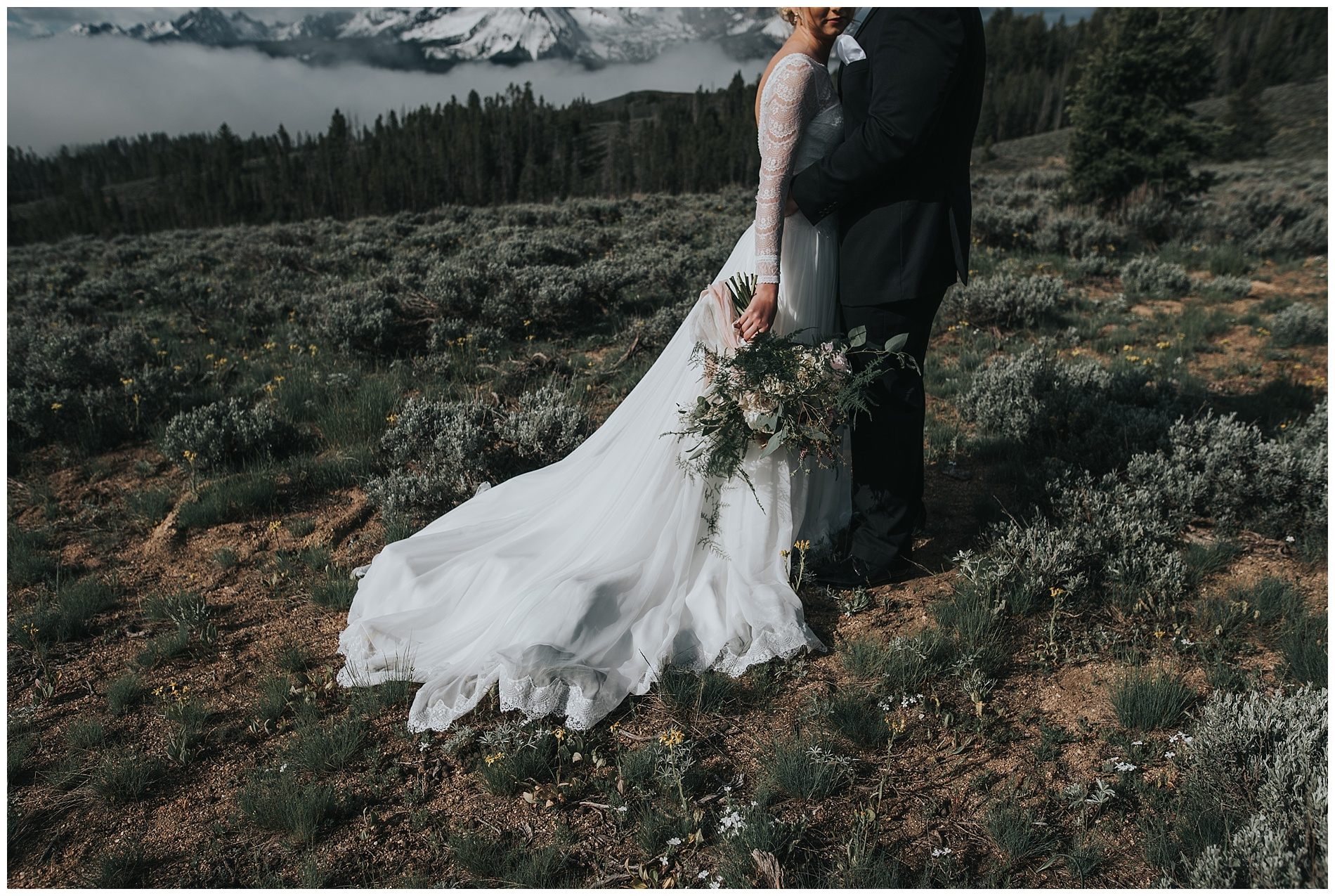 Sawtooth Wedding