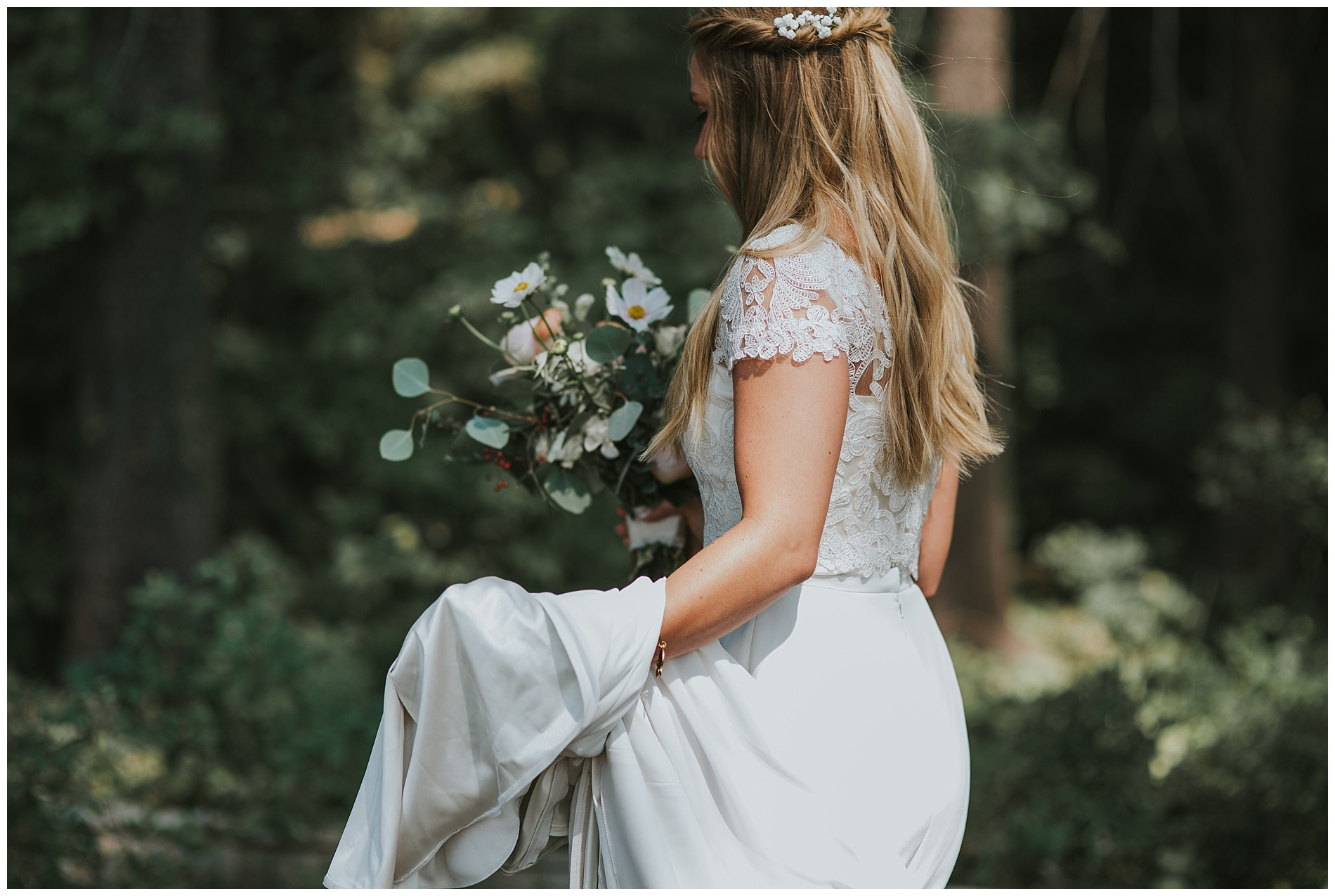 BHLDN Boho Boise Idaho Wedding Photographer