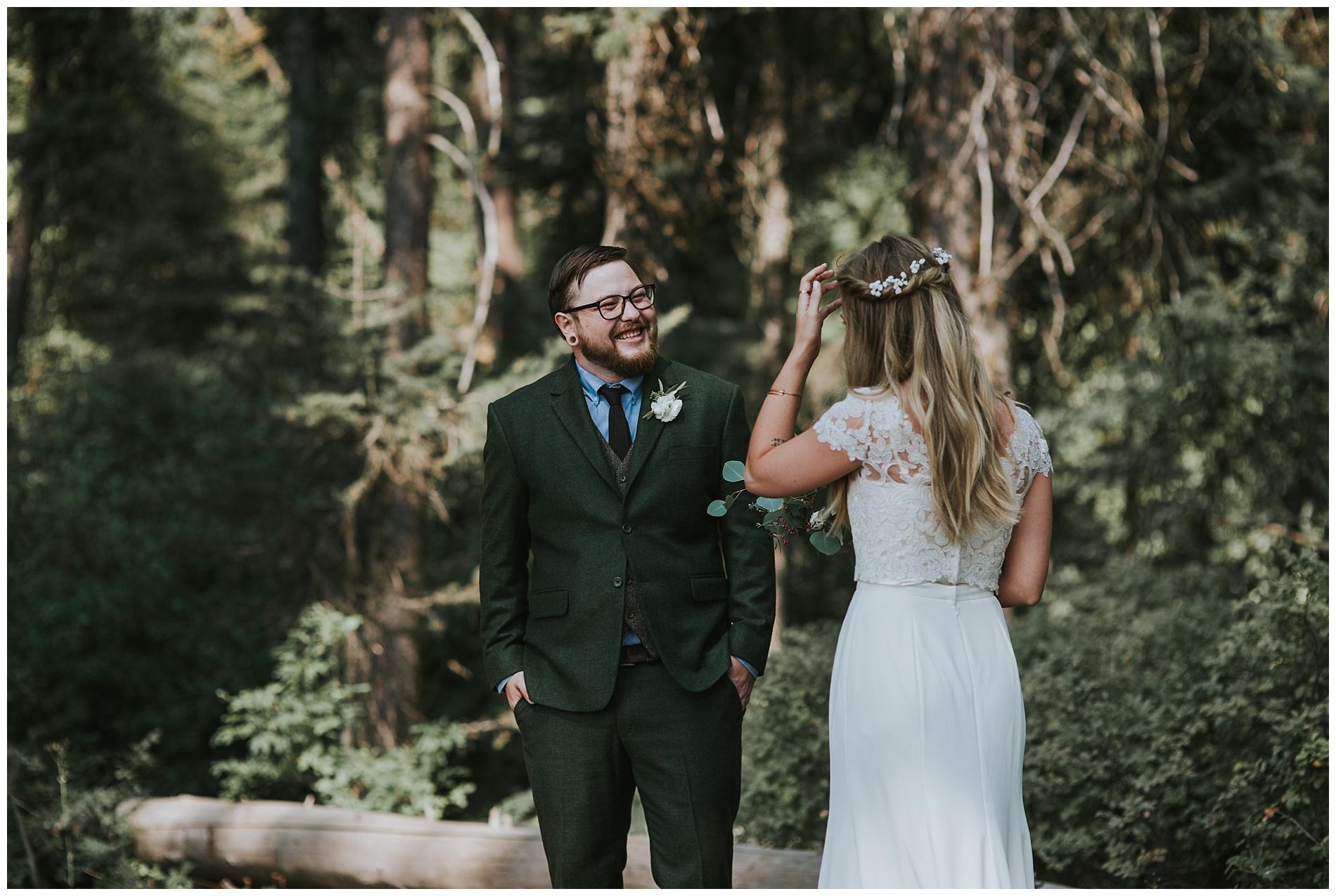 Boho Wedding McCall Idaho