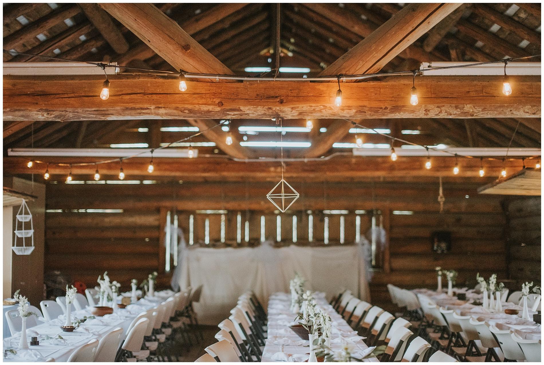 Boho Geometric Wedding McCall Idaho