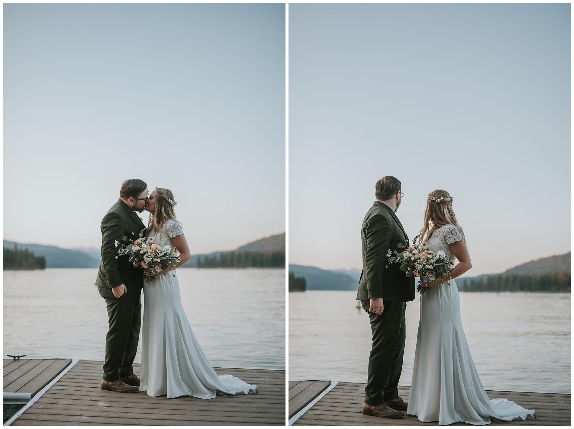 Payette Lake McCall Idaho Wedding