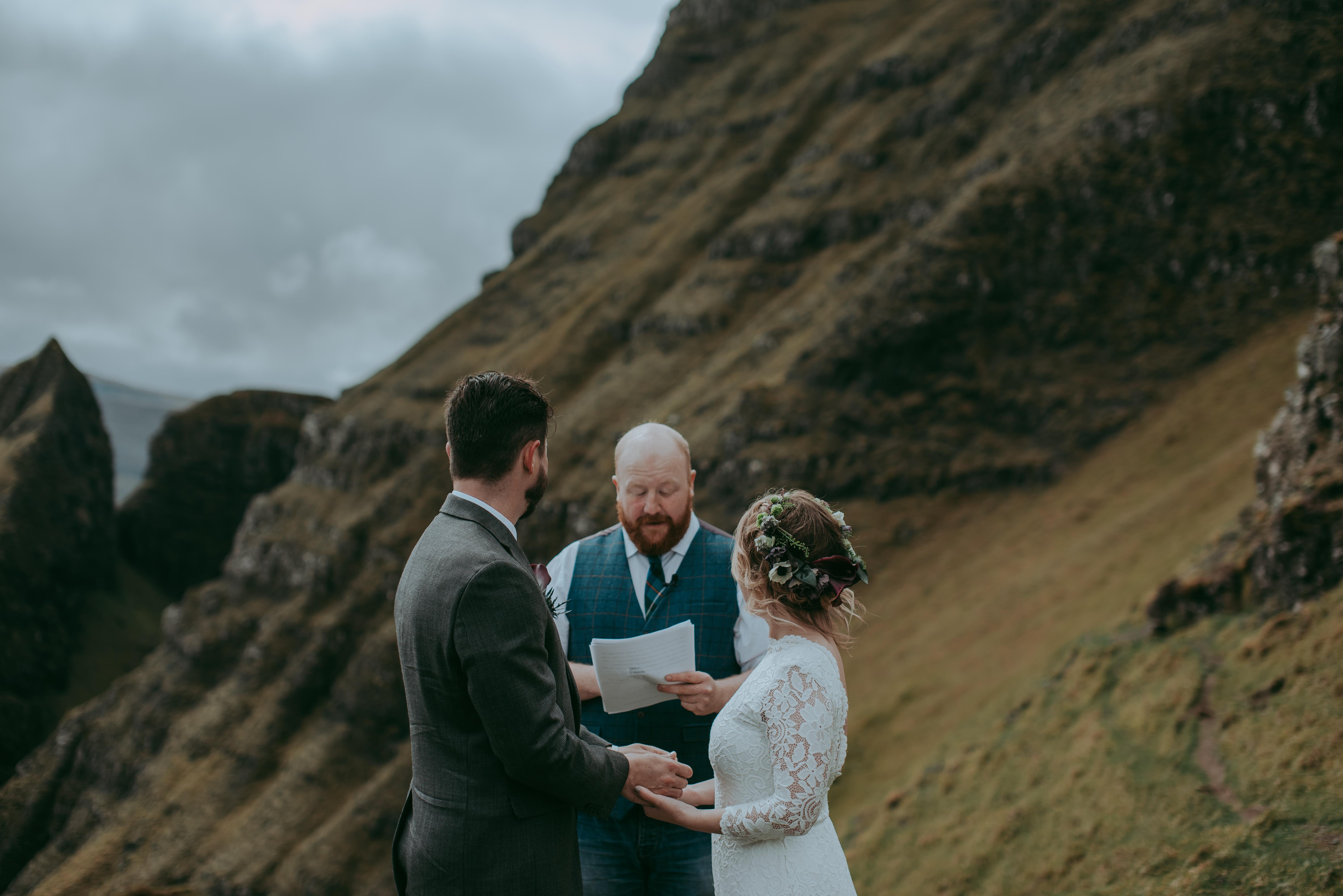 Quiraing Scotland elopement