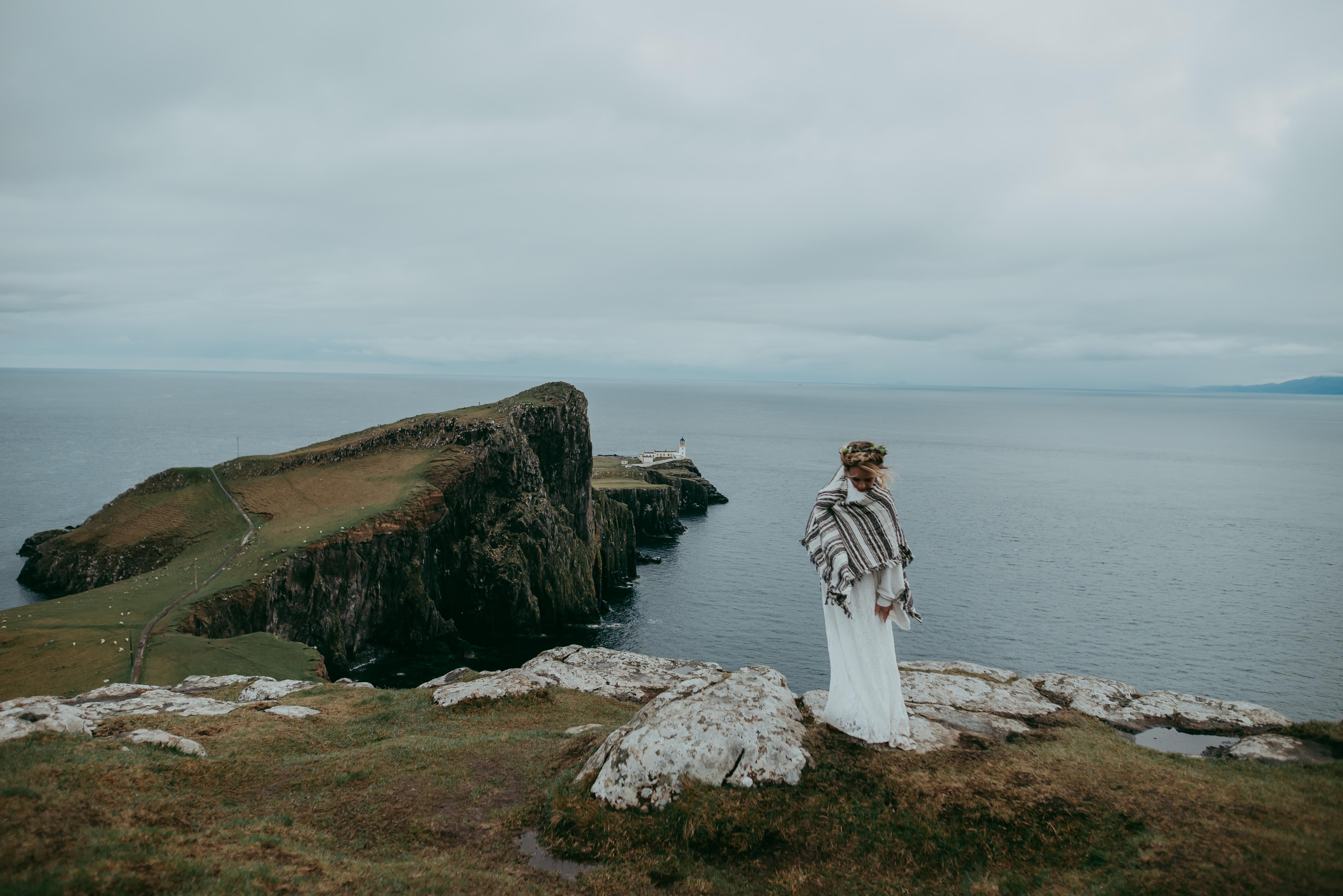 Neist Point elopement Scotland