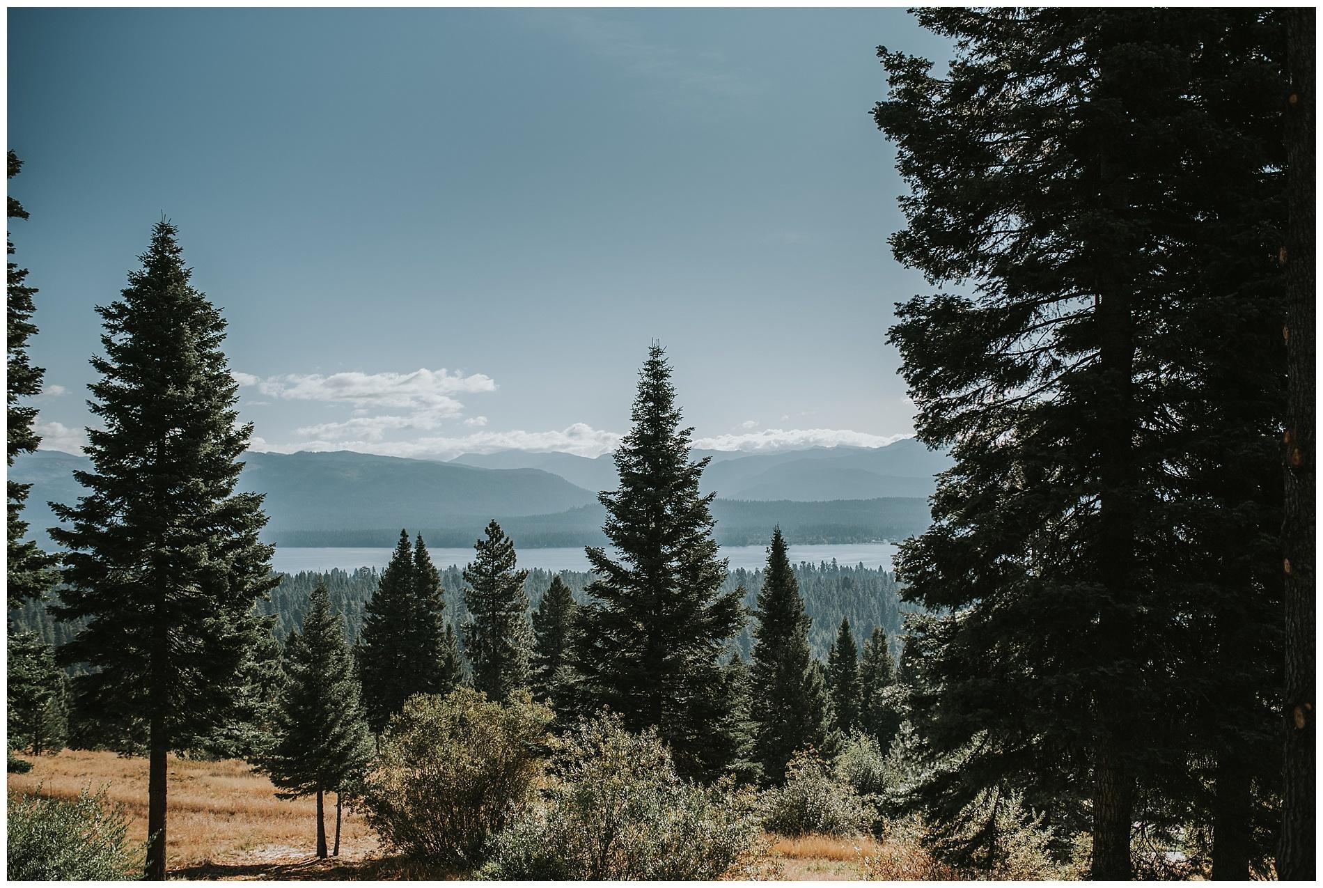 Payette Lake McCall Idaho Wedding Photography