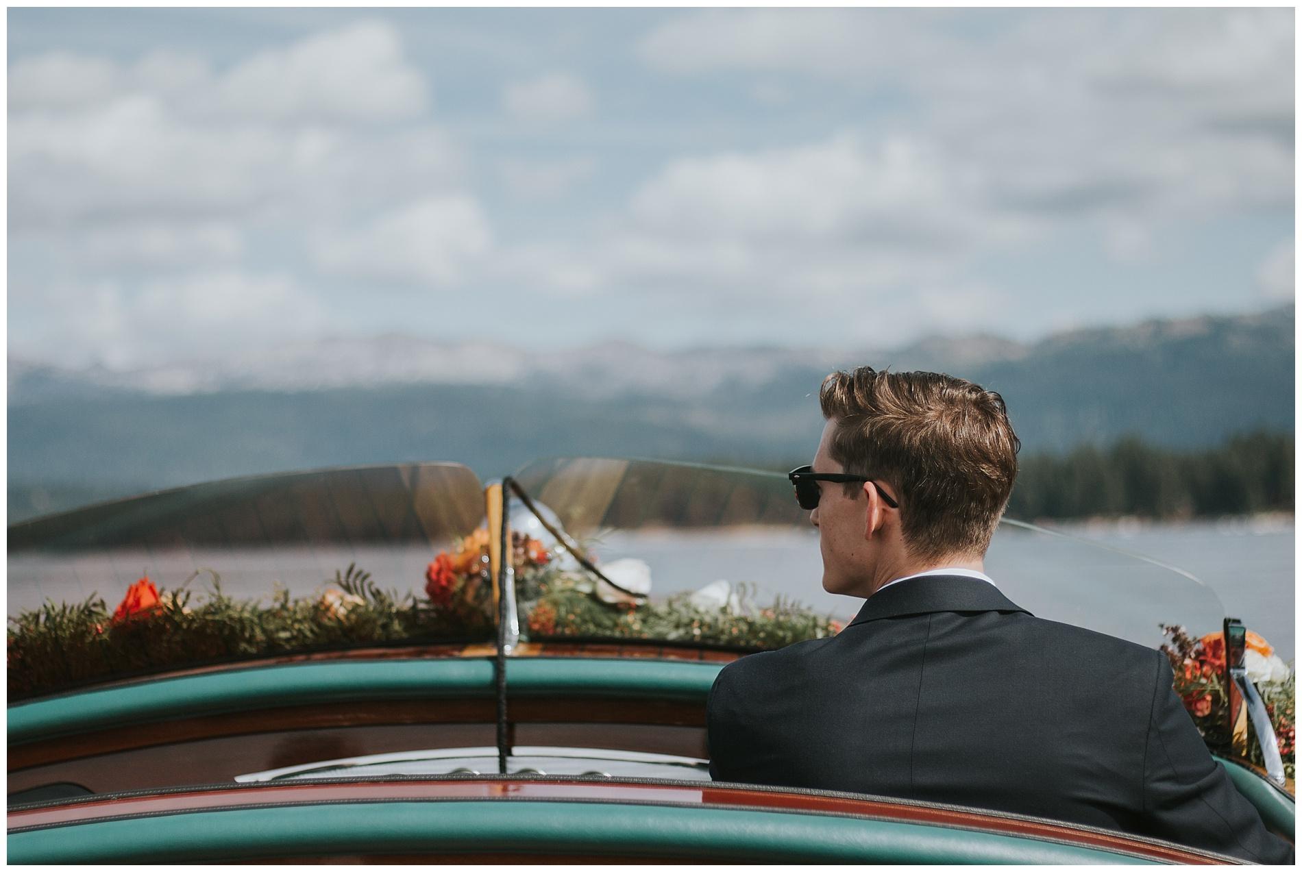Shore Shore Lodge Wedding McCall Idaho