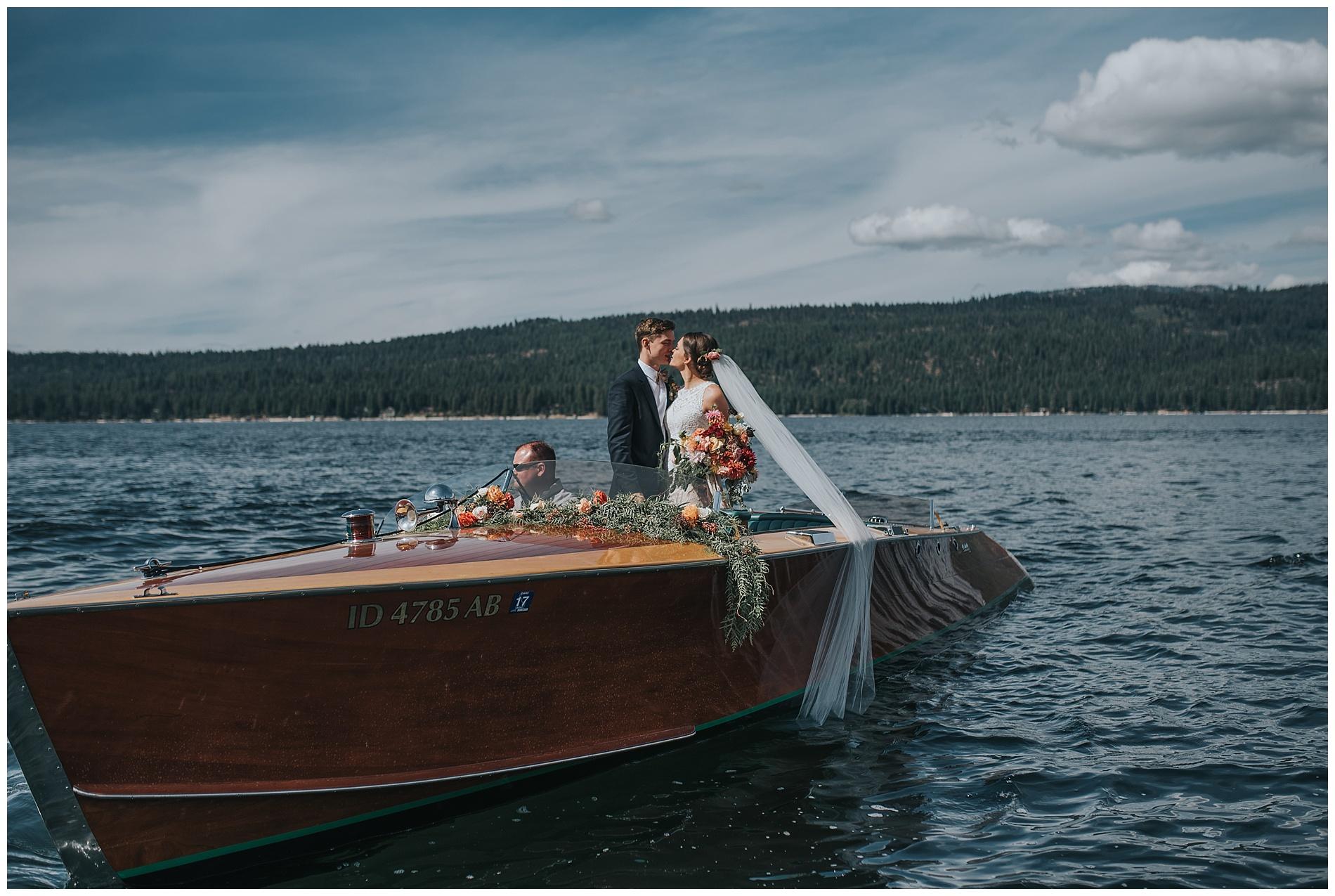 Shore Lodge McCall Idaho Wedding