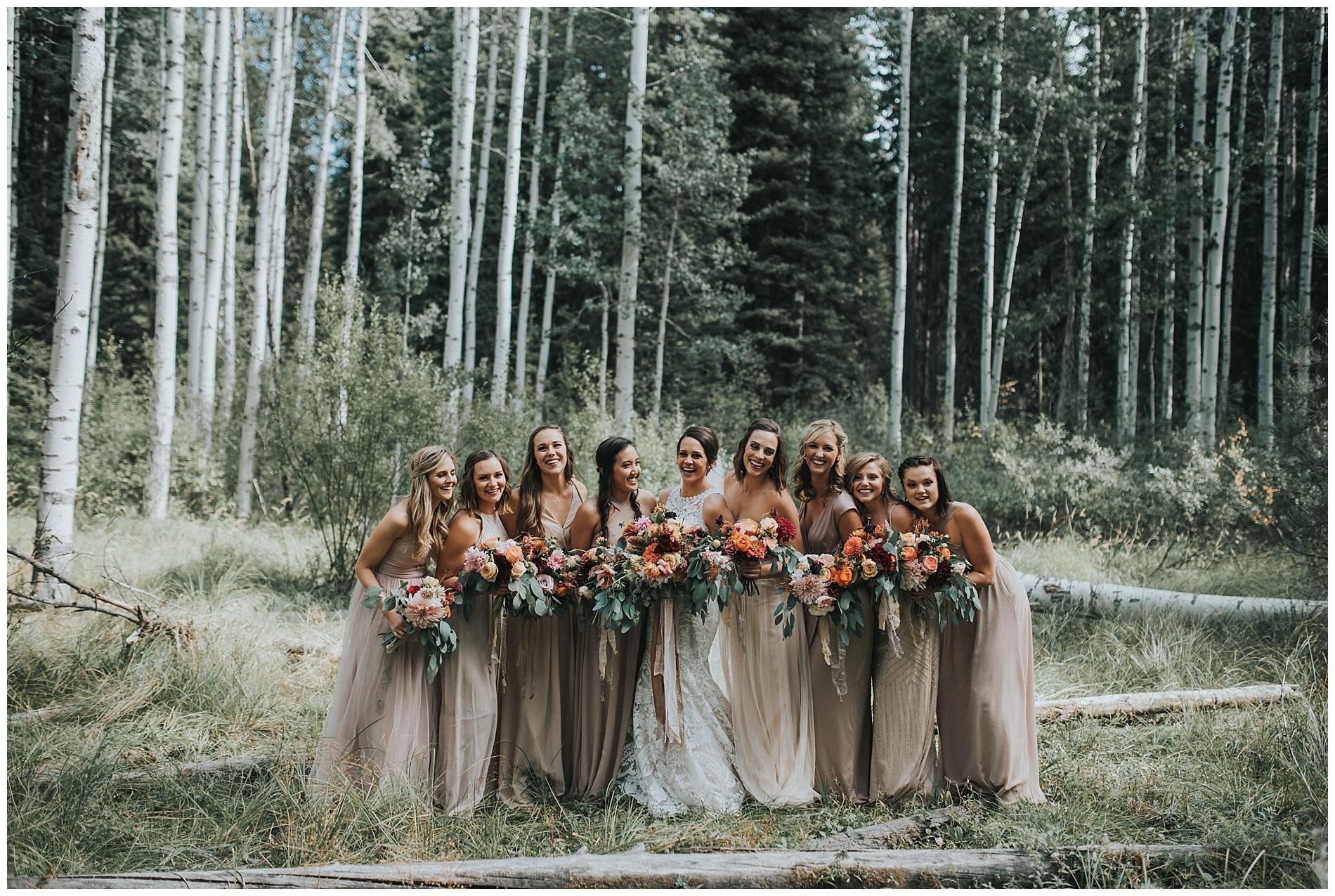 Boho Bridesmaids McCall Idaho