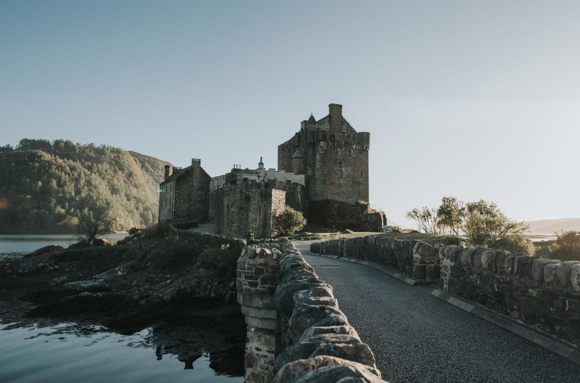 Eilean Donan Castle Sunset