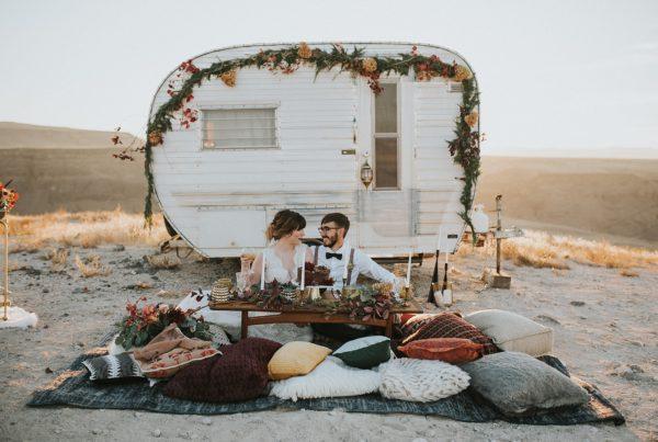 PNW camping elopement
