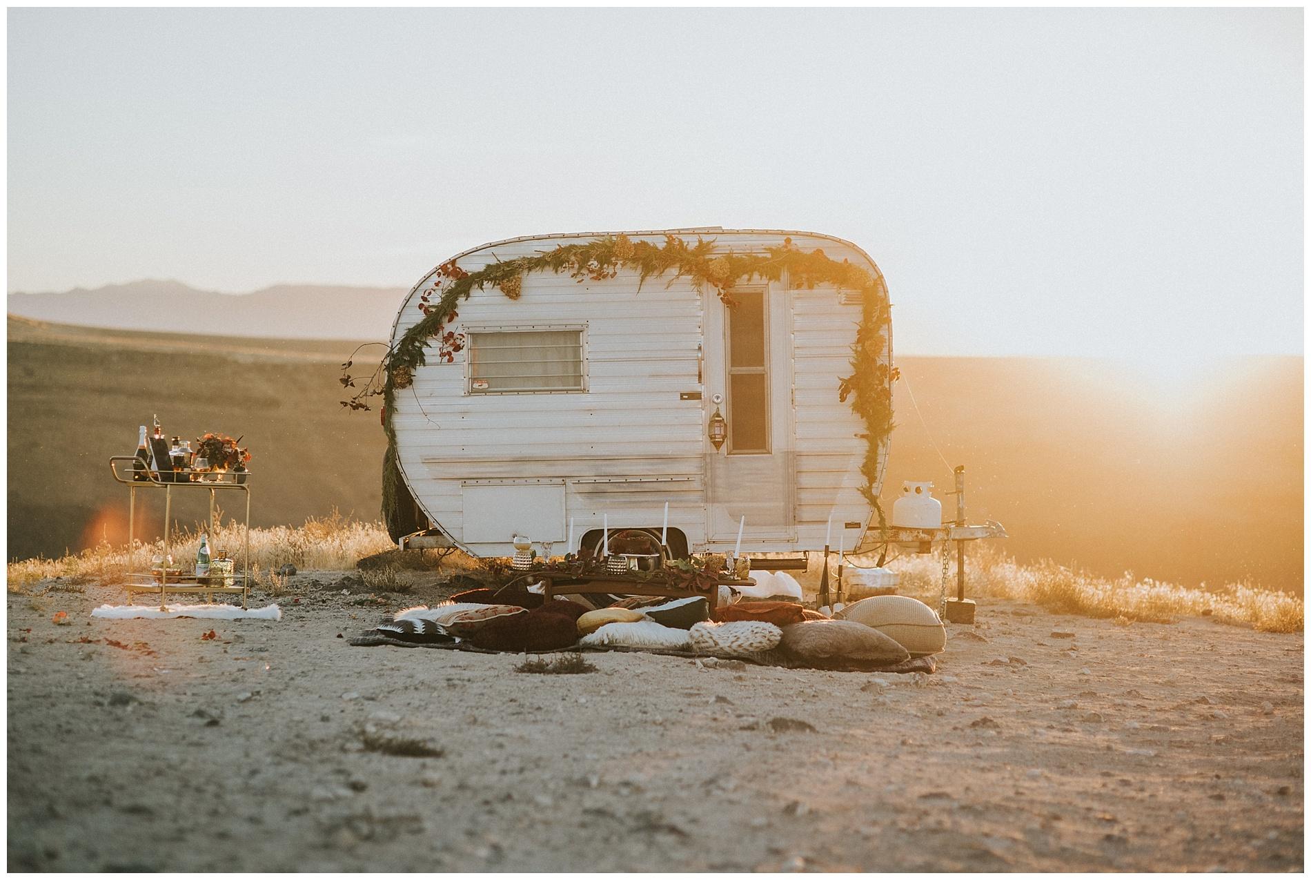 Oregon Camping Elopement