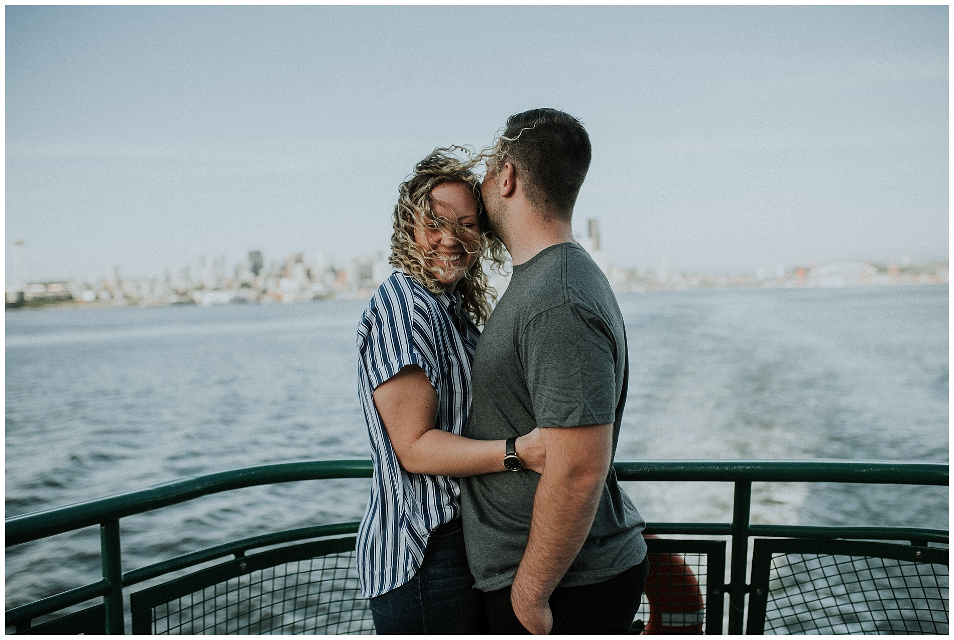 Seattle Ferry Engagement Session