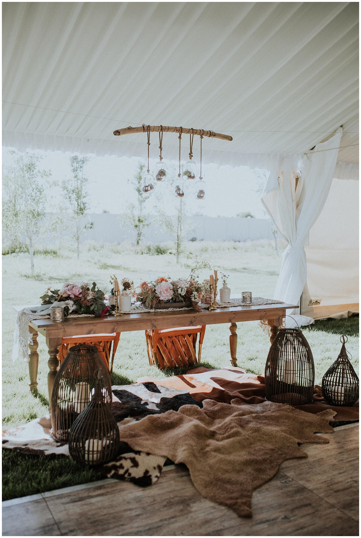 Sweetheart Bride and Groom Table Idaho Wedding Photographer