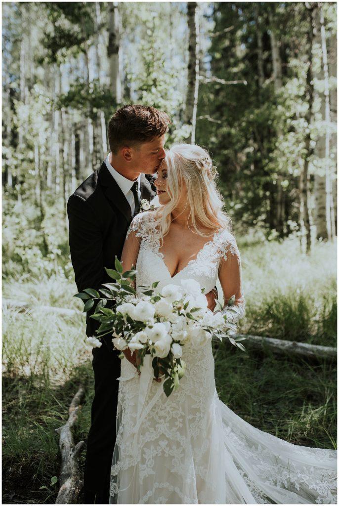Brundage Mountain Resort in McCall Wedding Photographer