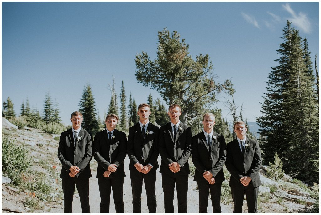 Brundage Mountain Resort Boho Moody Summer Wedding in McCall Idaho