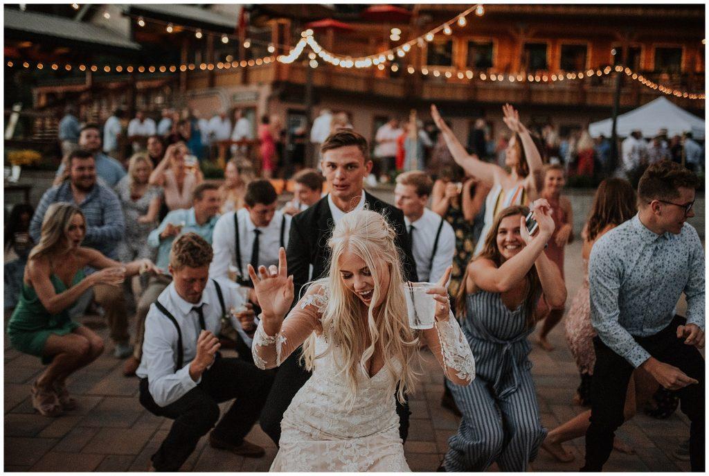 Brundage Mountain Resort Boho Wedding in McCall Idaho