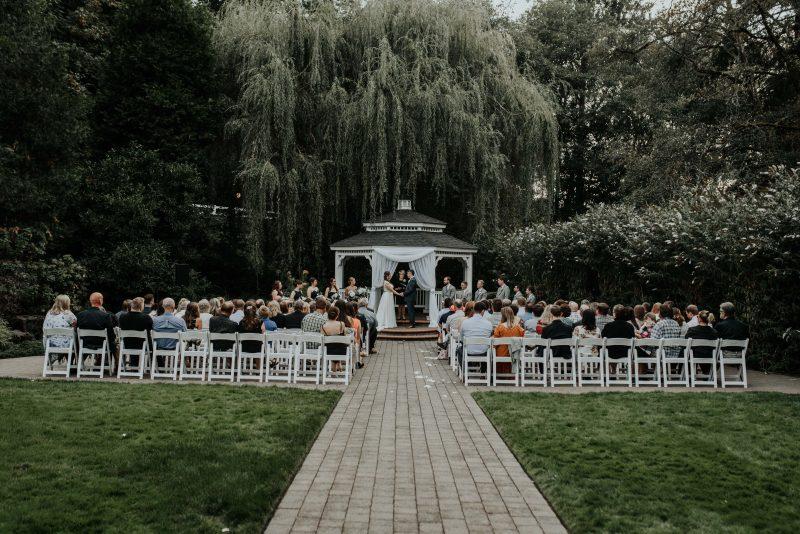 Portland Oregon Moody wedding at the gardens